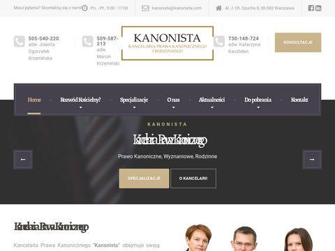 Kanonista.com unieważnienie ślubu Warszawa