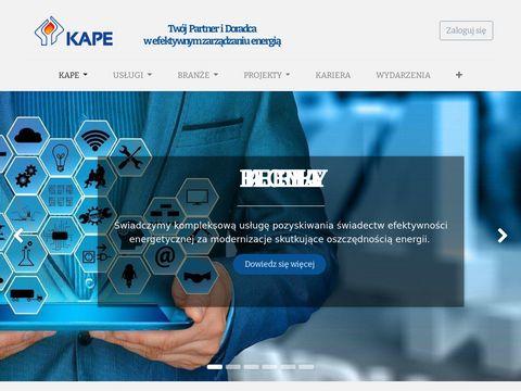 Kape.gov.pl Krajowa Agencja Poszanowania Energii