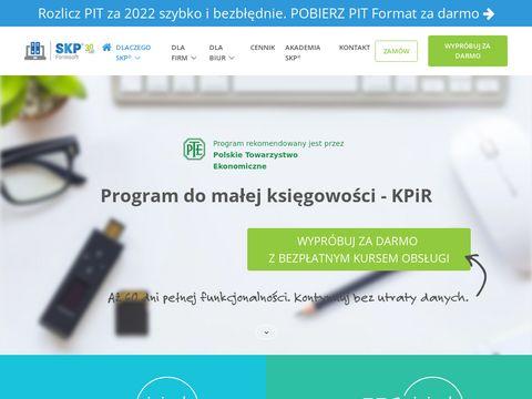 Program ksiega-podatkowa.pl mała księgowość