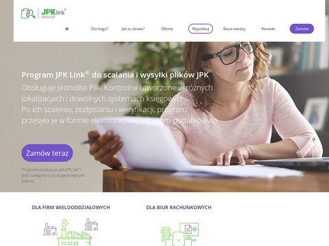 Jpk-link.pl jednolity plik kontrolny program