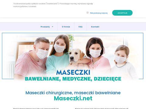 Maseczki.net o wysokiej filtracji