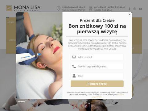 Monalisa-poznan.pl gabinet kosmetyczny