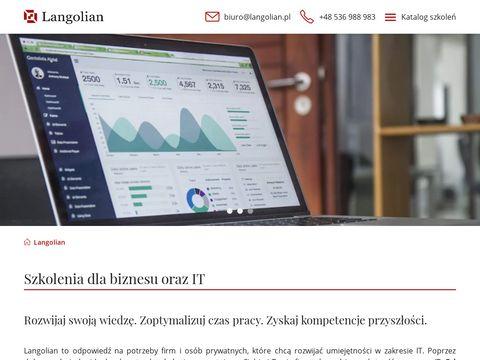 Langolian.pl szkolenie VBA