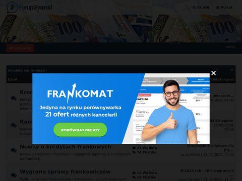 Ondaforum.com kredyt we frankach
