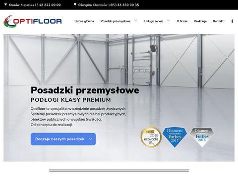 Optifloor.pl posadzki przemysłowe Kraków