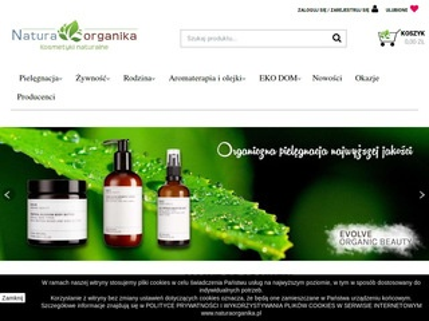 Naturaorganika.pl kosmetyki naturalne