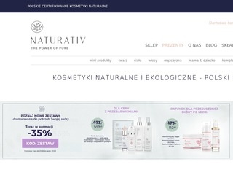Naturativ.pl kosmetyki ekologiczne