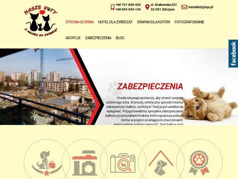 Nasze-koty.com.pl - hotel dla kota Kraków