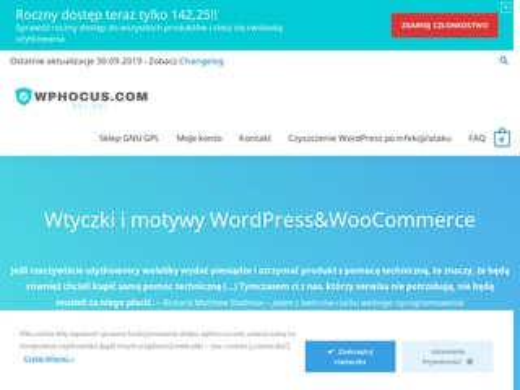 Wphocus.com pluginy GPL