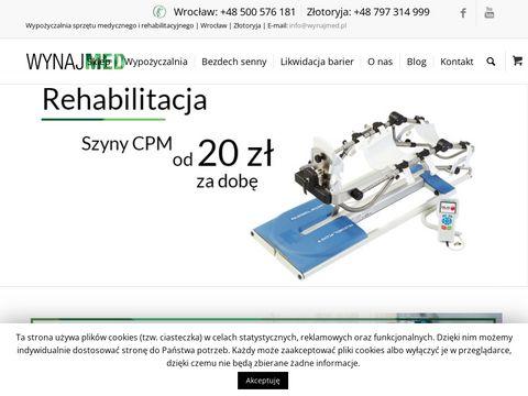 Wynajmed.pl koncentrator tlenu wypożyczalnia