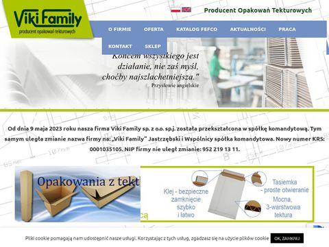 Viki.com.pl pudełka wysyłkowe