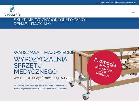 Visamed.pl wypożyczalnia wózków inwalidzkich