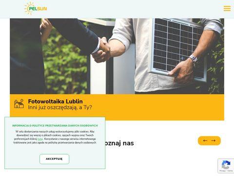 PelSun instalacje fotowoltaiczne