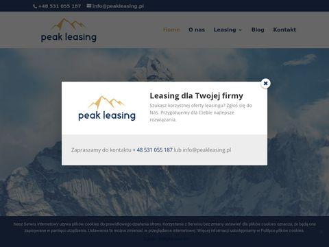 Peakleasing.pl maszyn