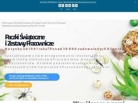 Paczki firmowe - paczkadlapracownika.pl