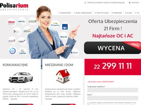 Polisarium.pl ubezpieczenie mieszkania