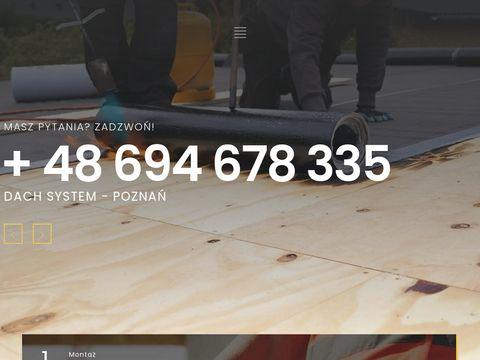 Poznanskidekarz.pl montaż pokryć dachowych