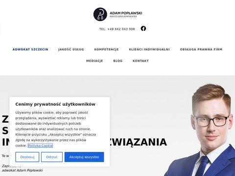 Poplawski.legal adwokat Szczecin