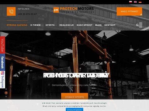 Protech-motors.pl relokacja maszyn