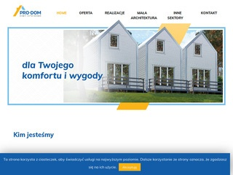 Prodom.net.pl domki letniskowe sprzedaż