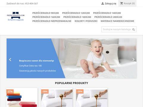 Przescieradlo.com z gumką
