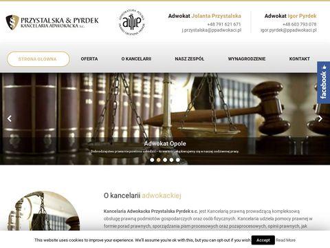 Ppadwokaci.pl adwokaci Przystalska & Pyrdek