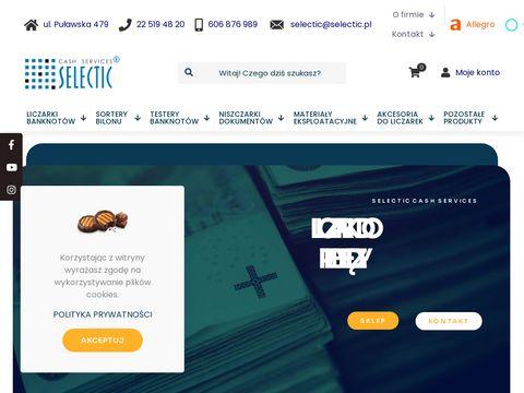 Selectic.pl urządzenia do pieniędzy