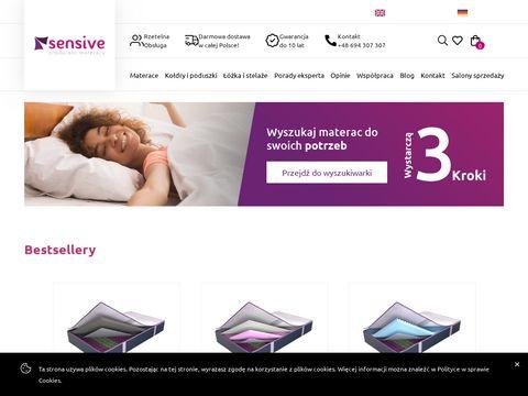 Sensive.pl producent materacy
