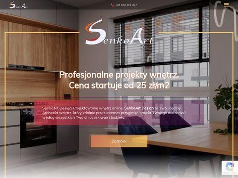Senkoart.pl projektowanie design wnętrz