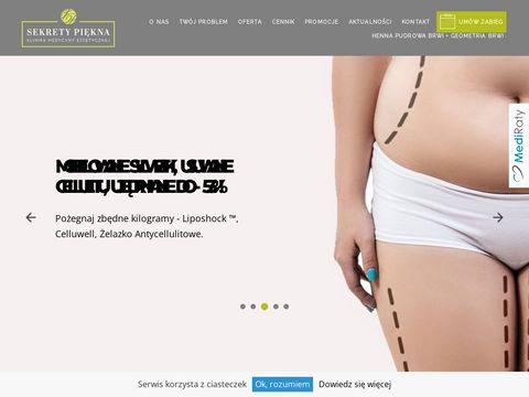 Sekretypiekna.net medycyna estetyczna Kraków