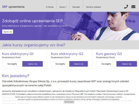 Sep-on-line.pl uprawnienia sep online