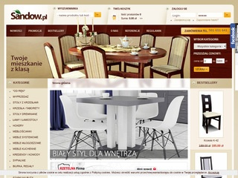 Sandow.pl producent stołów