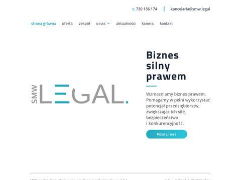 Smwlegal.pl kancelaria prawna Kraków