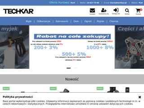Sklep.techkar.pl internetowy