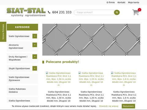 Siat-Stal sklep z siatkąogrodzeniową