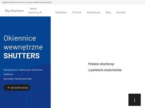 Skyshutters.pl produkcja i montaż