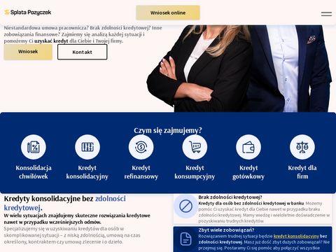 Splatapozyczek.pl doradcy kredytowi