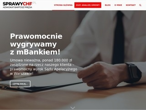 Sprawychf.pl kredyty frankowe