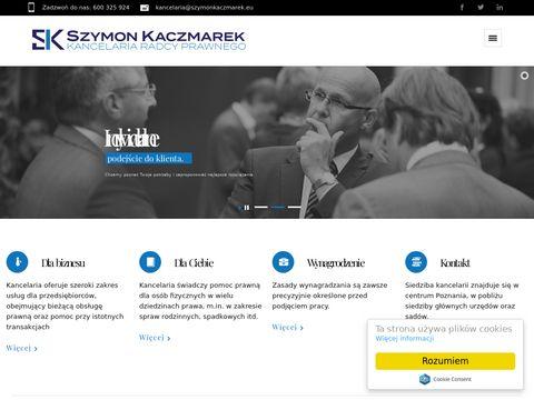 Szymonkaczmarek.eu kancelaria radcy prawnego