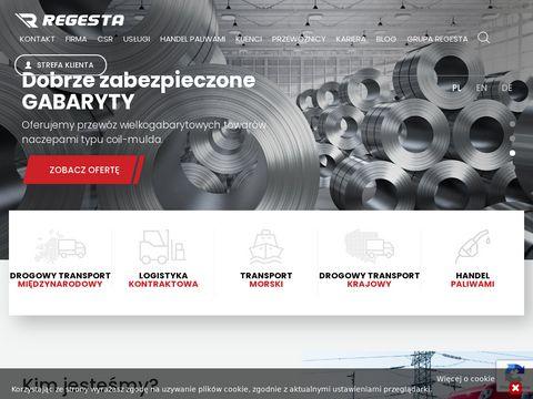 Regesta.pl usługi magazynowe Wrocław