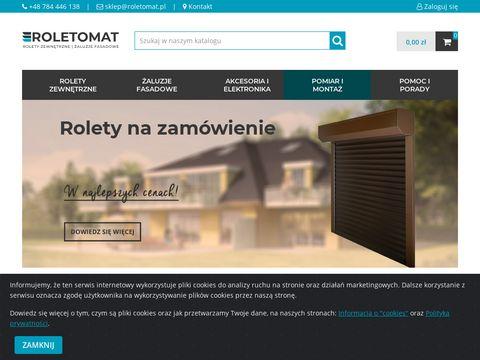 Roletomat.pl rolety na zamówienie