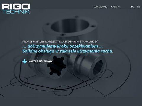 Rigotechnik usługi CNC