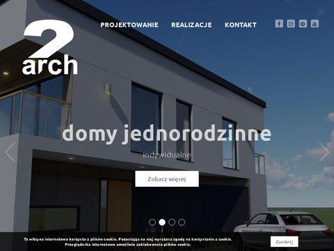 2arch.pl projektowanie wnętrz architekt